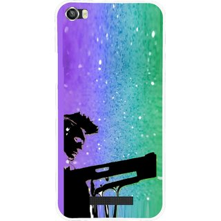 Snooky Printed Sparkling Boy Mobile Back Cover For Lava Iris X8 - Multi