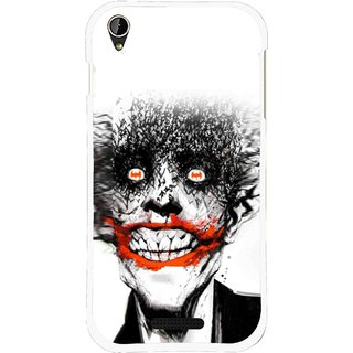 Snooky Printed Joker Mobile Back Cover For Lava X1 Mini - Multi
