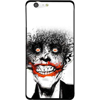 Snooky Printed Joker Mobile Back Cover For Gionee Marathon M5 - Multi