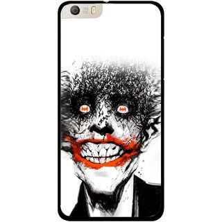 Snooky Printed Joker Mobile Back Cover For Micromax Canvas Knight 2 E471 - Multi