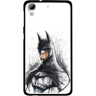 Snooky Printed Angry Batman Mobile Back Cover For HTC Desire 626 - Multi