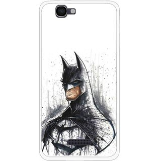 Snooky Printed Angry Batman Mobile Back Cover For Micromax Canvas 2 A120 - Multi