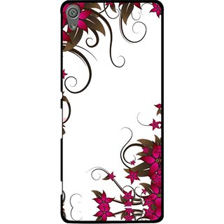 Snooky Printed Flower Creep Mobile Back Cover For Sony Xperia XA1 - Multi