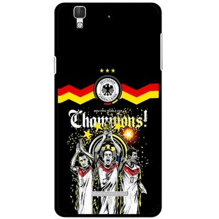 Snooky Printed Champions Mobile Back Cover For Coolpad Dazen F2 - Multi