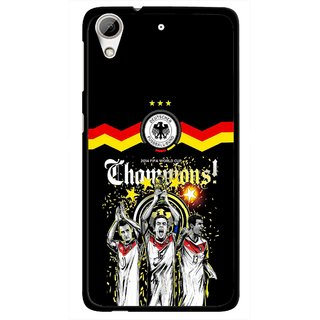 Snooky Printed Champions Mobile Back Cover For HTC Desire 626 - Multi