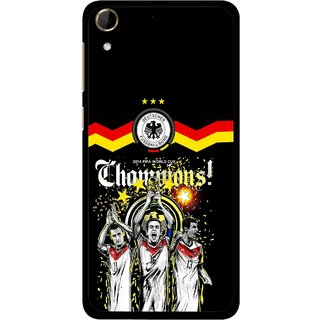 Snooky Printed Champions Mobile Back Cover For HTC Desire 728 - Multi