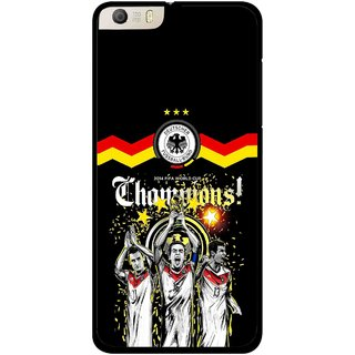 Snooky Printed Champions Mobile Back Cover For Micromax Canvas Knight 2 E471 - Multi