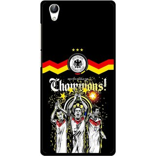 Snooky Printed Champions Mobile Back Cover For Vivo Y51L - Multi