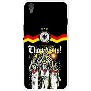 Snooky Printed Champions Mobile Back Cover For One Plus X - Multi