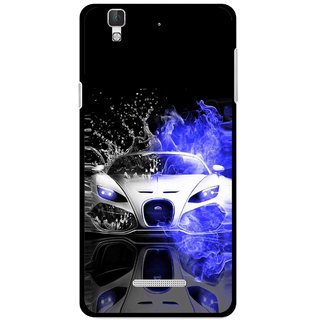 Snooky Printed Super Car Mobile Back Cover For Coolpad Dazen F2 - Multi