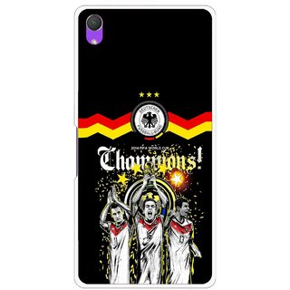 Snooky Printed Champions Mobile Back Cover For Sony Xperia Z2 - Multi