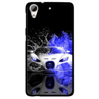 Snooky Printed Super Car Mobile Back Cover For HTC Desire 626 - Multi