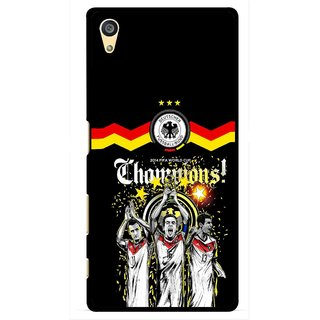 Snooky Printed Champions Mobile Back Cover For Sony Xperia Z5 Plus - Multi