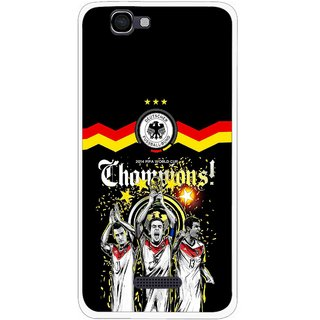 Snooky Printed Champions Mobile Back Cover For Micromax Canvas 2 A120 - Multi