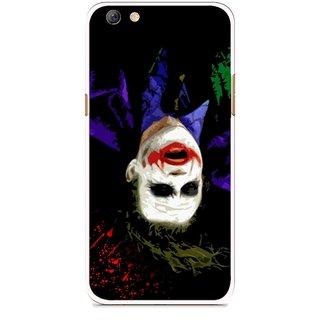 Snooky Printed Hanging Joker Mobile Back Cover For Oppo F3 plus - Multi