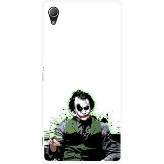 Snooky Printed Joker Mobile Back Cover For Sony Xperia Z3 - Multi