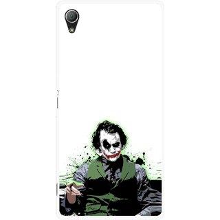 Snooky Printed Joker Mobile Back Cover For Sony Xperia Z3 - Multi