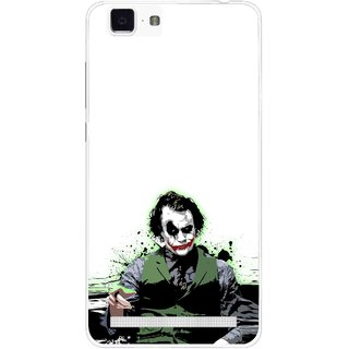 Snooky Printed Joker Mobile Back Cover For Vivo X5 Max - Multi