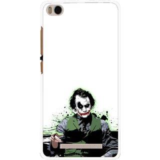 Snooky Printed Joker Mobile Back Cover For Xiaomi Redmi Mi4i - Multi