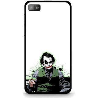 Snooky Printed Joker Mobile Back Cover For Blackberry Z10 - Multi