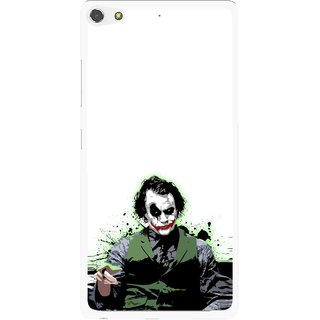 Snooky Printed Joker Mobile Back Cover For Gionee Elife S7 - Multi