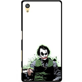 Snooky Printed Joker Mobile Back Cover For Sony Xperia Z5 Plus - Multi