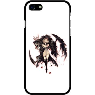 Snooky Printed Kungfu Girl Mobile Back Cover For Apple iPhone 7 Plus - Multi