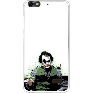 Snooky Printed Joker Mobile Back Cover For Huawei Honor 4C - Multi