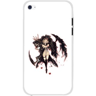 Snooky Printed Kungfu Girl Mobile Back Cover For Apple Ipod Touch 4 - Multi