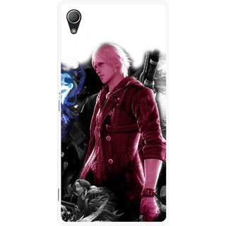 Snooky Printed Fighter Boy Mobile Back Cover For Sony Xperia Z3 - Multi