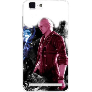 Snooky Printed Fighter Boy Mobile Back Cover For Vivo X5 Max - Multi
