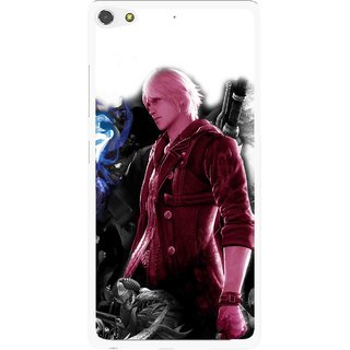 Snooky Printed Fighter Boy Mobile Back Cover For Gionee Elife S7 - Multi