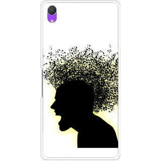 Snooky Printed Music Fond Mobile Back Cover For Sony Xperia Z2 - Multi