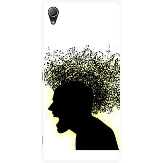 Snooky Printed Music Fond Mobile Back Cover For Sony Xperia Z3 - Multi