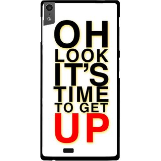 Snooky Printed Get Up Mobile Back Cover For Gionee Elife S5.5 - Multi