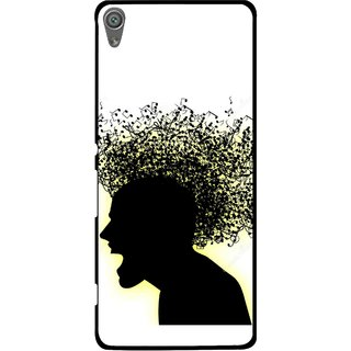Snooky Printed Music Fond Mobile Back Cover For Sony Xperia XA1 - Multi