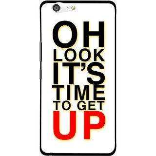 Snooky Printed Get Up Mobile Back Cover For Gionee Marathon M5 - Multi