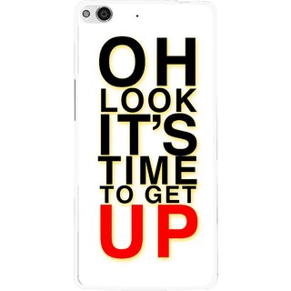 Snooky Printed Get Up Mobile Back Cover For Gionee Elife E6 - Multi