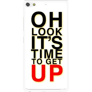 Snooky Printed Get Up Mobile Back Cover For Gionee Elife S7 - Multi