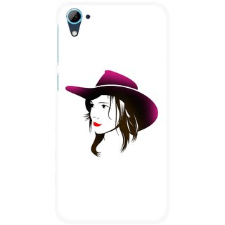 Snooky Printed Tom Boy Mobile Back Cover For HTC Desire 826 - Multi