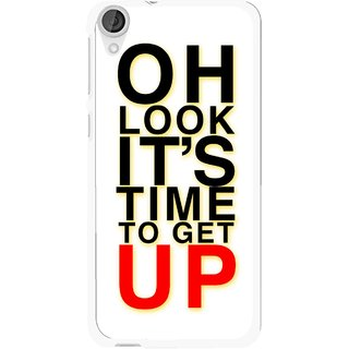 Snooky Printed Get Up Mobile Back Cover For HTC Desire 820 - Multi