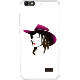 Snooky Printed Tom Boy Mobile Back Cover For Huawei Honor 4C - Multi
