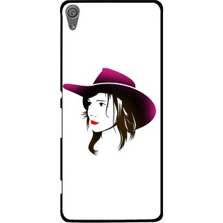 Snooky Printed Tom Boy Mobile Back Cover For Sony Xperia XA1 - Multi
