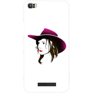 Snooky Printed Tom Boy Mobile Back Cover For Lava Iris X8 - Multi