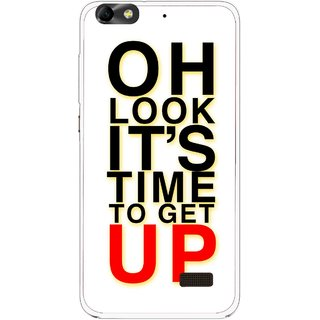 Snooky Printed Get Up Mobile Back Cover For Huawei Honor 4C - Multi