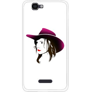 Snooky Printed Tom Boy Mobile Back Cover For Micromax Canvas 2 A120 - Multi