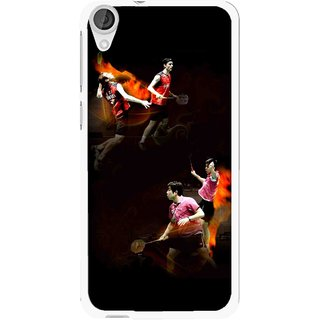 Snooky Printed Sports Player Mobile Back Cover For HTC Desire 820 - Multi
