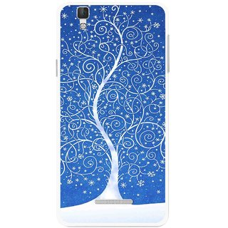 Snooky Printed Wish Tree Mobile Back Cover For Coolpad Dazen F2 - Multi