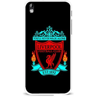 Snooky Printed Football Club Mobile Back Cover For HTC Desire 816 - Multi
