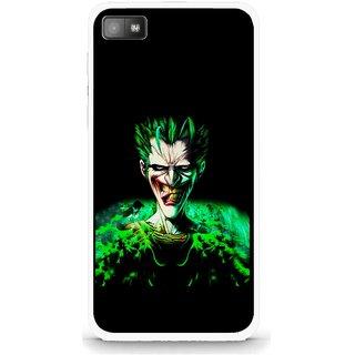 Snooky Printed Daring Joker Mobile Back Cover For Blackberry Z10 - Multi